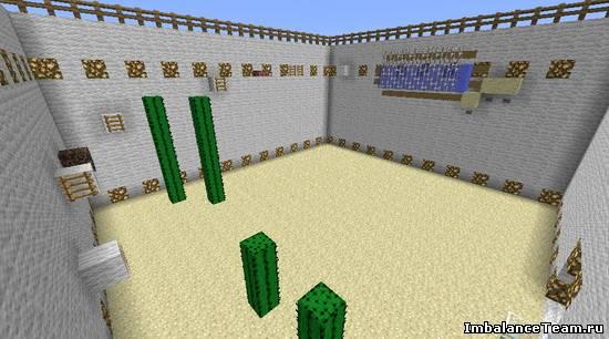 Карта для Minecraft паркур