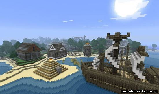 Карта The Secret of Wayhart Point v3.2 для Minecraft