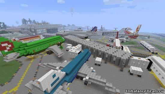 Карта Аэропорт для Minecraft