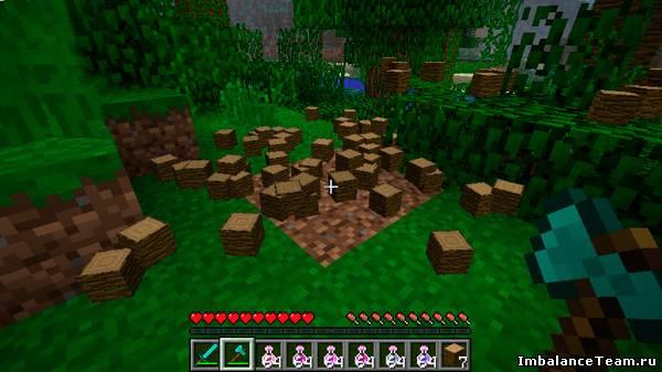 Скачать мод для Minecraft Treecapitator