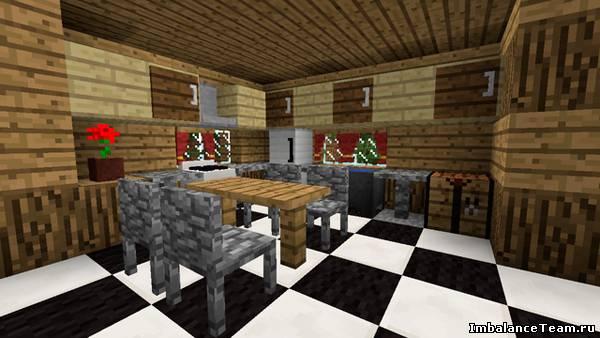 Minecraft мод Furniture