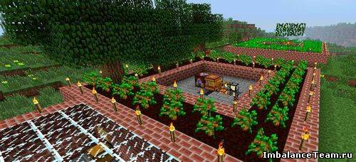 Minecraft мод Forestry