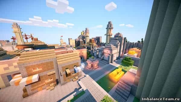 Minecraft карта Assassins