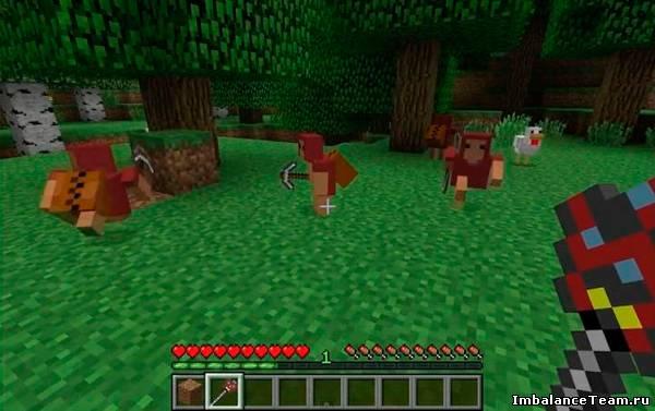 Мод Minecraft Minions