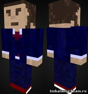 Скин человека для Minecraft