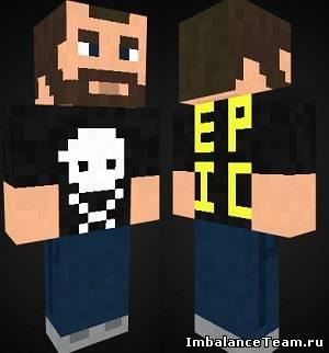 Скин панка для Minecraft
