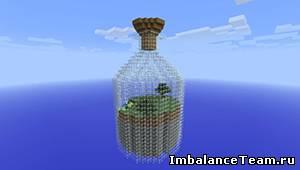 Карта бутылка для Minecraft 1.5.2