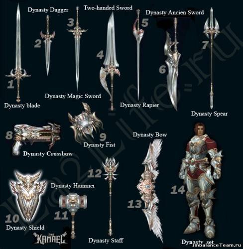 Lineage 2 Модель: Dynasty Weapon
