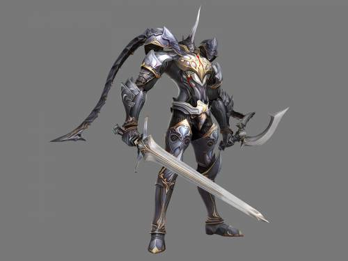 Lineage 2 Модель: Divine Warrior Transformation