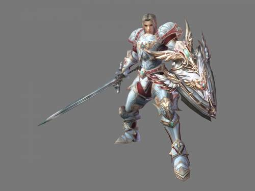 Lineage 2 Модель: Male Human Fighter