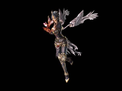 Lineage 2 Модель: Divine Wizard Transformation